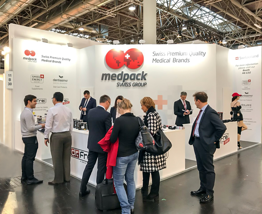 Welcome to Our Booths at MEDICA 2017