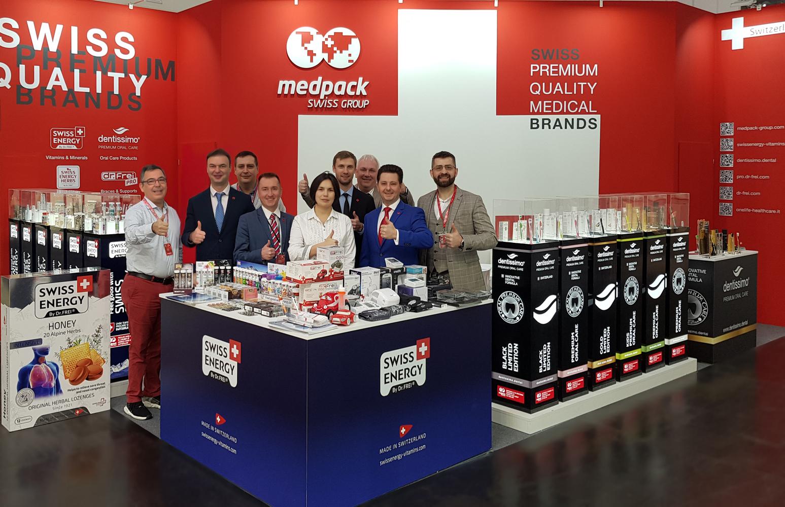 Hail Medpack Swiss Group at Medica!